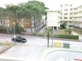 vista terrazzo appartamento trilocale fronte mare residence sanian bibione