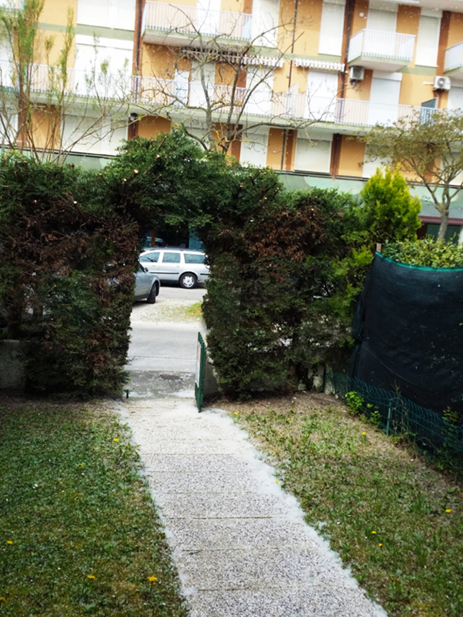 ingresso giardino villetta indipendente con giardino villa malaga porto santa margherita