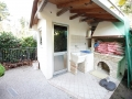 rimessa esterna e barbeque appartamento in villetta con giardino villa dinky bibione