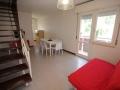 soggiorno appartamento trilocale al primo piano villa luca 5 bibione