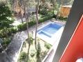vista piscina appartamento trilocale al primo piano villa luca 5 bibione