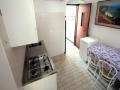 ingresso cucina monolocale vicino alla spiaggia villa verde bibione