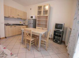 soggiorno cucina appartamento bilocale al primo piano villa ines bibione